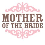Mother of the Bride (Mocha and Baby Pink)