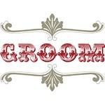 Groom (Maroon & Silver)