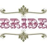 Bride (Eggplant & Olive Green)
