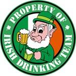 Property of the Irish Drinking Team