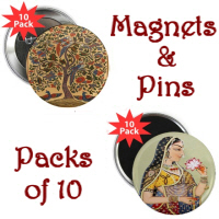 Magnets & Pins (10 Packs)