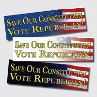 Save Our Constitution Vote Republican!