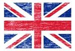 BRITISH FLAG DISTRESSED IMAGE