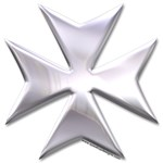 Maltese Cross Chrome