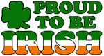 Proud to Be Irish tricolor