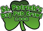 St. Patrick's Day Pub Crawl T-Shirts