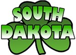South Dakota Shamrock T-Shirts