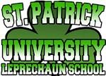 St. Patrick University Leprechaun School T-Shirt