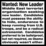 Wanted: New Leader T-Shirts