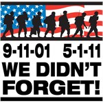 We Didn't Forget 9-11-01 T-Shirts