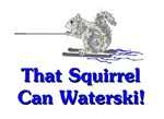 That Squirrel Can Waterski!