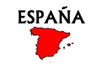 Espana Red Map