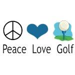 Peace Love Golf (design 2)