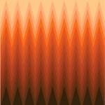 Brown Ombre Chevron