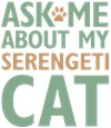 Serengeti Cat Lover Gift Ideas