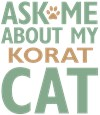 Korat Cat Lover Gift Ideas