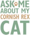 Cornish Rex Cat Lover Gifts