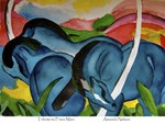 Tribute to Franz Marc By Amanda Nelson