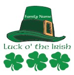 Luck o' the Irish Custom Name
