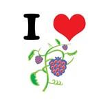 I Heart (Love) Raspberries