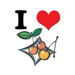 I Heart (Love) Cherries