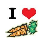 I Heart (Love) Carrots