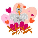 Silly Valentine's Day Chicken