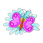 Valentine Heart Butterfly