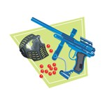 Paintball Equipment Graphic