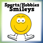 Sports/Hobbies/Jobs Smiley Face Designs