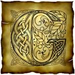 Celtic Knotwork Letter G