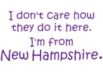 I'm From New Hampshire