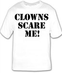 Clowns Scare Me!