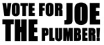 Vote For Joe The Plumber!