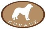 Kuvasz (brown oval)
