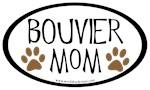 Bouvier Mom Oval