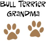 Big Paws Bull Terrier Grandma