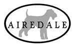 Airedale Terrier Oval #3