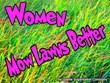 Women Mow Lawns Better