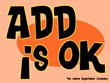 ADD Is Ok