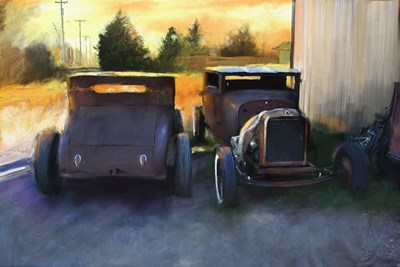 Old Chopped Hot Rods