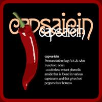 Capsaicin diction