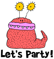 Squishy Monster Let's Party! T Shirts Gifts