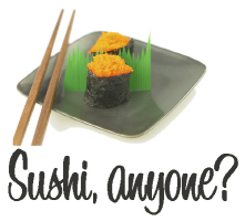 Sushi Anyone? Cool T Shirts Gifts Cards
