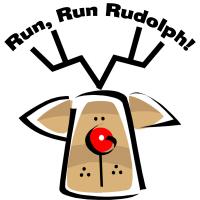 Run Run Rudolph Reindeer T-Shirts Gifts