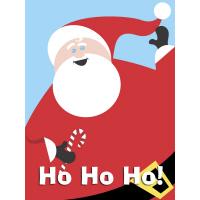 Cool Christmas Ho Ho Santa T-Shirts Gifts