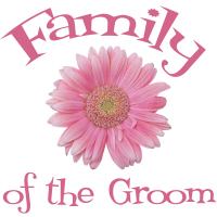 Daisy Family of the Groom Wedding Apparel T-Shirts