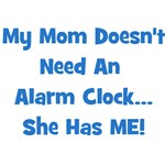 Mommy's Alarm Clock - Blue