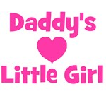 Daddy's Little Girl with heart