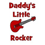 Daddy's Little Rocker with Guitar